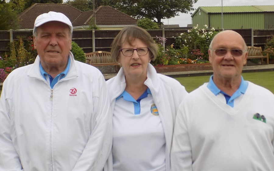 Mixed Triples Winners unable to attend Presentation