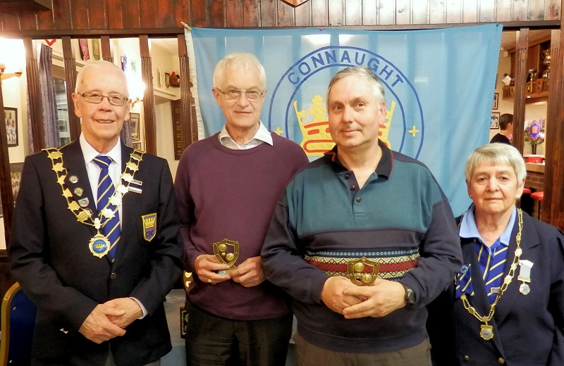 Runners Up Brian Matthews Richard Broad & *(Jim Delaney)